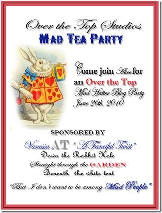 Mad Tea Party Invite
