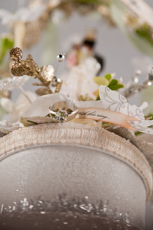 B - And they lived happily ever after wedding topper