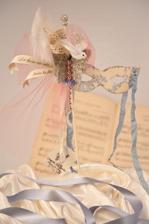 K - Marie Antoinette Opera Mask